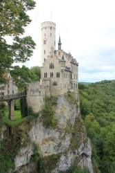 Lichtenstein Castle in Baden-Württemberg, Germany
