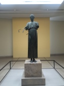 The Charioteer of Delphi is one of the best-known surviving statues from Ancient Greece.