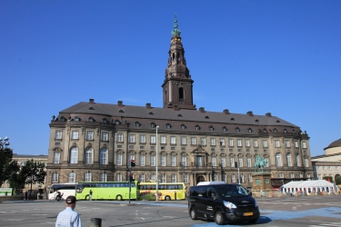 Front of the Christiansborg Palace