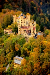 Schloss Hohenschwangau in Bavaria, Germany