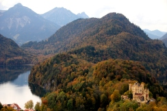 Panoramic views from Schloss Neuschwanstein.