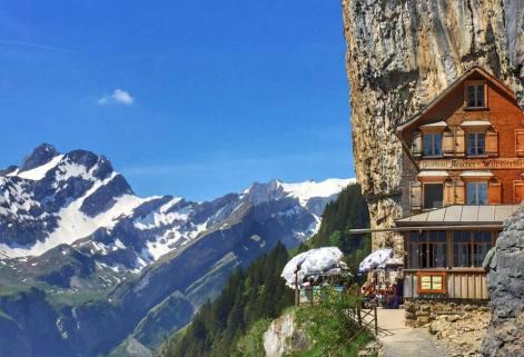 Berggasthaus Aescher.
