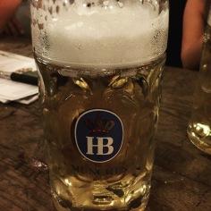 Deutsches bier in Munich.