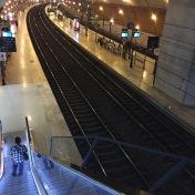 Monaco train station.