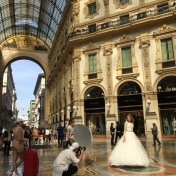 Galleria Vittorio Emanuele II. One of the oldest shopping malls in the world.
