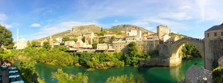 Stari Most (16th century) in Mostar, Bosnia and Herzegovina