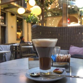 Latte Macchiato in Italy.