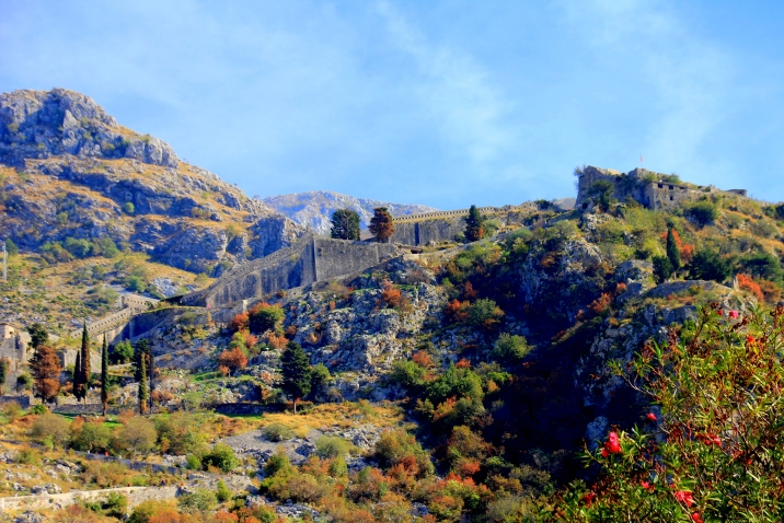 City walls of Kotor