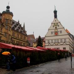 Christmas market at Rothenburg ob der Tauber