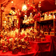 Handcrafted items at the Nuremberg Christmas Market