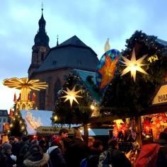 Christmas Market in Heidelberg.
